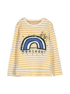 Tee-shirt manches longues garçon FOLITEE3 / 19S90223TML001