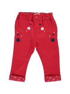 Pantalon brodé bébé fille CIDEPAN / 18SG09F1PANF518
