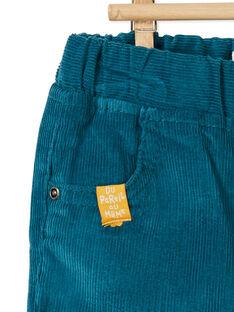 Pantalon velours côtelé KUJOPAN1 / 20WG1051PAN715