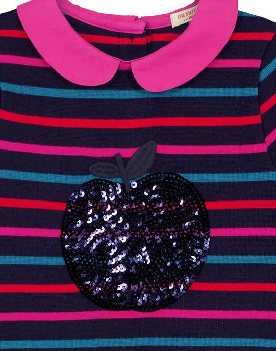 Robe Bleu marine GAJOROB3 / 19W90146D2F070