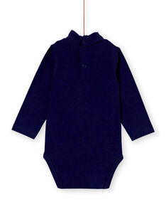 Body col roulé bleu marine bébé garçon KULUBOD2 / 20WG10P2BODC205