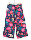 Pantalon fluide, imprimé fleurs hawaiennes LABONPANT / 21S901W1PAN716