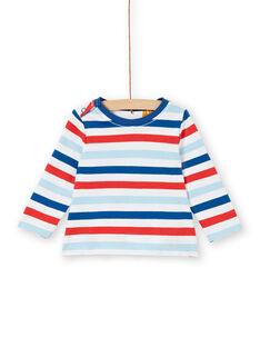 Tee Shirt Manches Longues Blanc LUCANTEE2 / 21SG10M2TML000