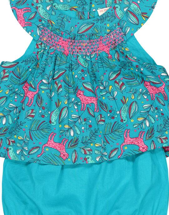 Ensemble robe bloomer bébé fille FITUENS / 19SG09F1ENS202