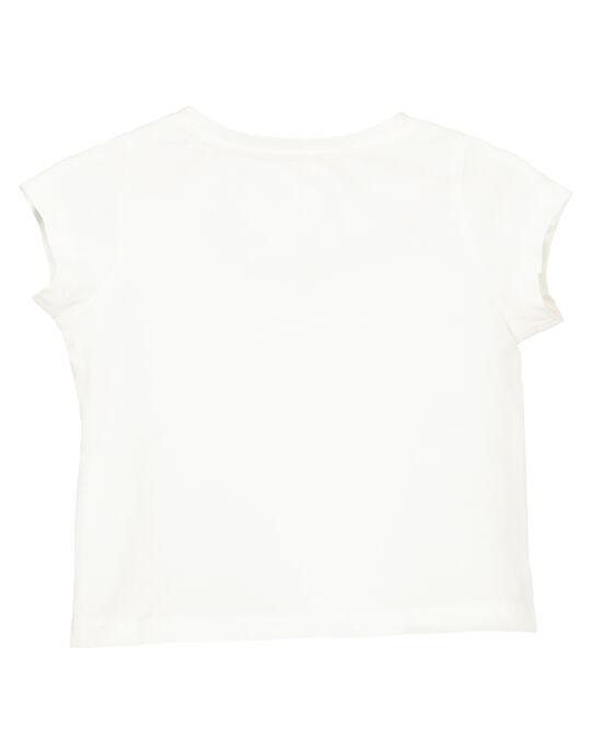 Tee-shirt manches courtes bébé fille FIJOTI1 / 19SG0931TMC001