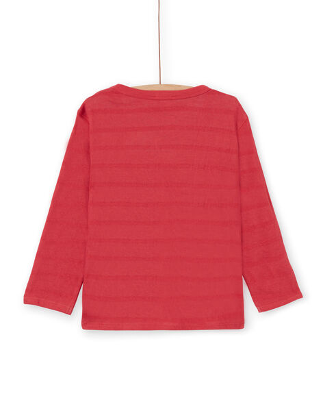 Tee Shirt Manches Longues Rouge LOROUTEE1 / 21S902K2TML330