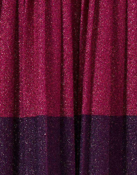 Jupe en lurex bicolor KAECOJUP1 / 20W901H1JUPH704