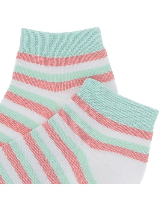 Chaussettes basses rayées garçon CYOJOCHO9A / 18SI02S5SOQ000