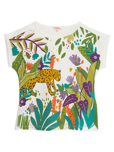 Tee Shirt Manches Courtes Ecru JASAUTI1 / 20S901Q2TMC001
