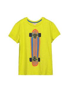 Tee-shirt manches courtes fantaisie garçon FOJOTI4 / 19S90234D31117