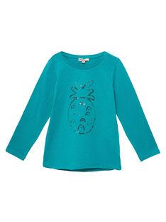 Tee Shirt Manches Longues Bleu JAJOTEE4 / 20S90142D32C235