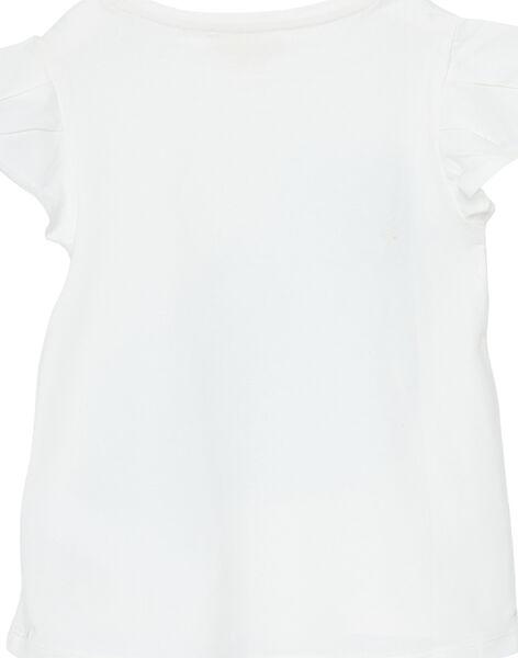 Tee Shirt Manches Courtes Ecru JAJOTI3 / 20S90145D31001