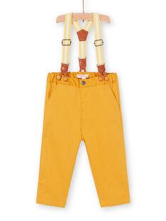 Pantalon Jaune LUBALPAN / 21SG10O1PAN117