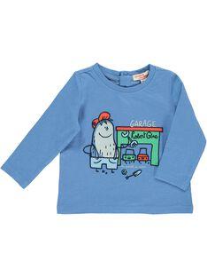 Tee-shirt manches longues bébé garçon CUKLETEE2 / 18SG10D2TML221