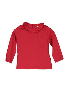 Tee-shirt manches longues bébé fille FIJOBRA3 / 19SG0933BRA050