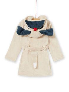 Robe de chambre enfant garçon motif chien  KEGOROBDOG / 20WH12C2RDC080