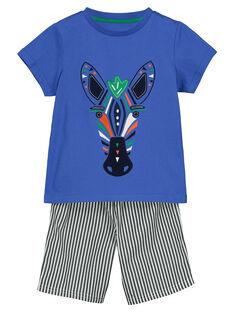 Pyjama short garçon FEGOPYCZEB / 19SH1296PYJC212