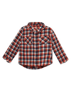 chemise à carreaux bébé garçon JUVICHEM / 20SG10D1CHM001