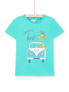 Tee Shirt Manches Courtes Vert LOJOTI7 / 21S902F1TMC600