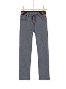Pantalon en maille souple élastiqué enfant garcon KOECOPAN2 / 20W902H2PAN705