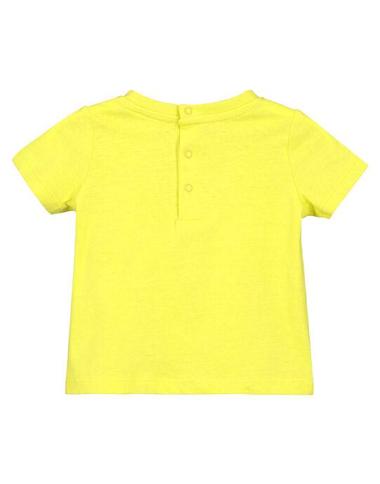 Tee Shirt Manches Courtes Jaune  FUJOTI10 / 19SG10G3TMCB105