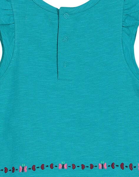 Tee-shirt broderies bébé fille FITUTI2 / 19SG09F2TMC202