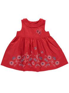 Robe chasuble bébé fille FITOROB3 / 19SG09L3ROB330