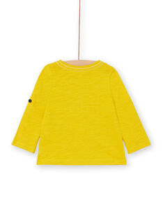Tee Shirt Manches Longues Jaune LUJOTUN3 / 21SG1036TML106