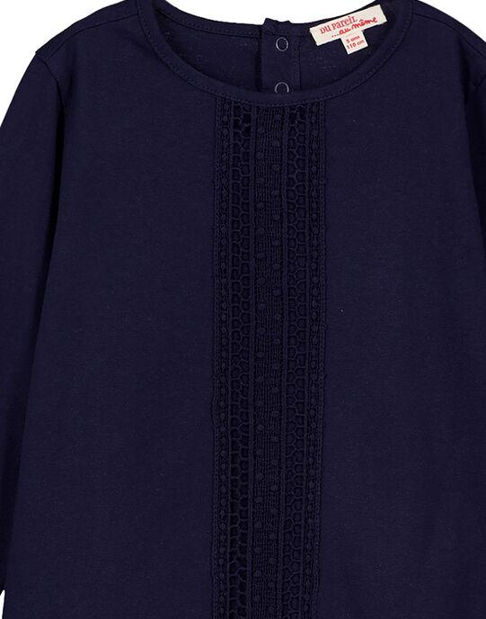 Tee Shirt Manches Longues Bleu marine GAJOSTEE2 / 19W90134D32070