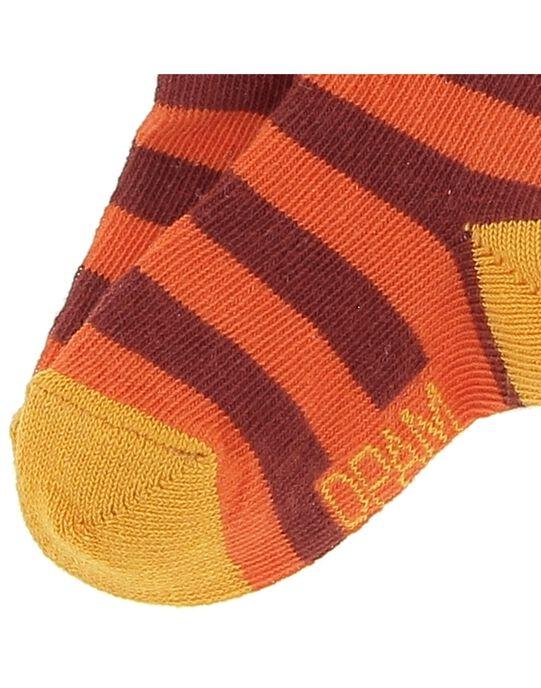 Chaussettes rayées bébé garçon CYUJOCHO10B / 18SI10S8SOQ099