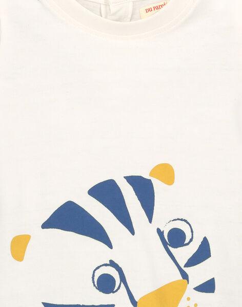 Tee-shirt manches courtes bébé garçon FUJOTI2 / 19SG1032TMC001