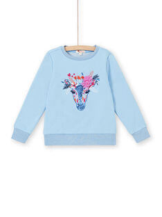 Sweat Shirt Bleu LABLESWEA / 21S901J1SWE221