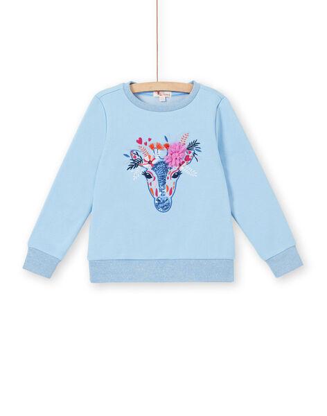 Sweat Shirt Bleu LABLESWEA / 21S901J1SWE221
