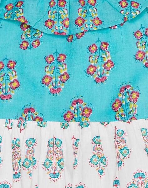 Robe sans manche à i double imprimé fleurie JABOROB3 / 20S901H3ROB209