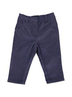 Pantalon en twill bébé fille CIJOPAN3A / 18SG09R3PAN705