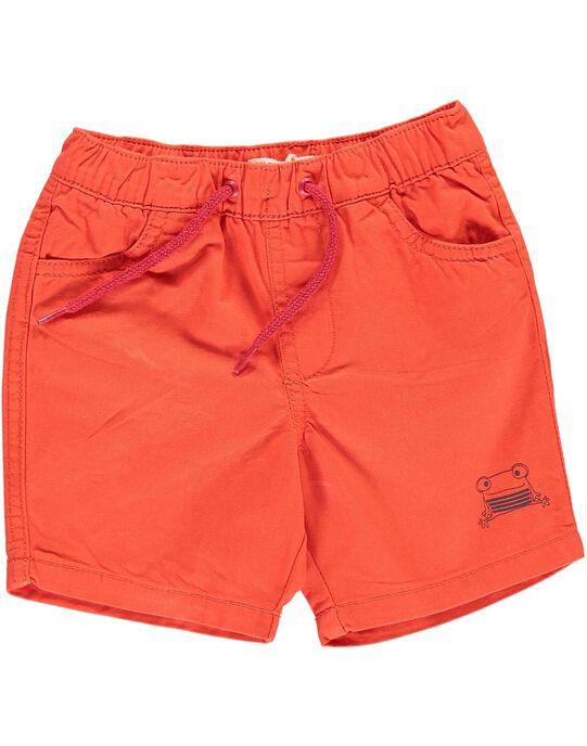 Bermuda orange bébé garçon CUJOBER10 / 18SG10S4BERE400