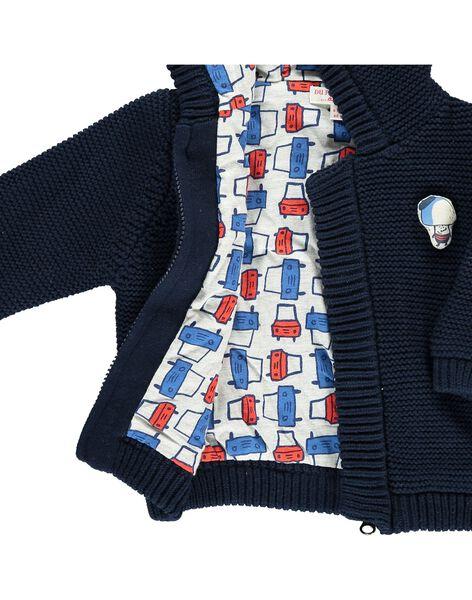 Gilet à capuche bébé garçon CUKLEVES / 18SG10D1VES705