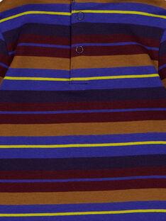 Sous pull rayé jersey bébé garçon GUVIOSOUP / 19WG10R1SPL711