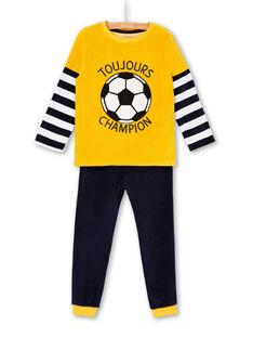 Pyjama Jaune LEGOPYJFOO / 21SH125DPYJB107