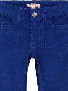 Pantalon En velours Indigo Regular GOJOPAVEL3 / 19W90234D2B720