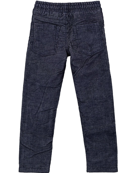 Pantalon en Velours Bicolore doublé polaire GOTUPAN1 / 19W902Q1PAN705