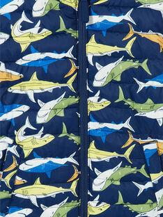 Blouson Bleu marine LOGROBLOU2 / 21S902R4BLO070