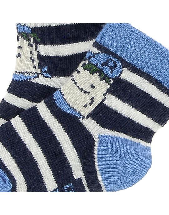 Chaussettes mi-hautes bébé garçon CYUKLECHO / 18SI10D1SOQ099