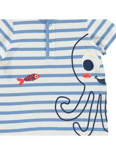 Combinaison short bébé garçon CUPLACOM2 / 18SG10Q2CBL099