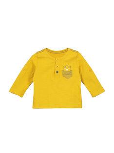Tee-shirt col tunisien bébé garçon FUJOTUN1 / 19SG1031TML412