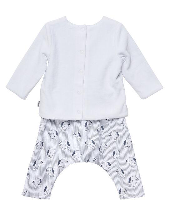 Ensemble pantalon reversible naissance mixte JOU1ENS4 / 20SF05J1ENS000