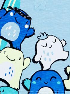 Polo Bleu JUQUAPOL / 20SG10R1POLC218
