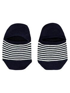 Chaussettes basses marinière garçon FYOJOCHO8C / 19SI02GASOQ070