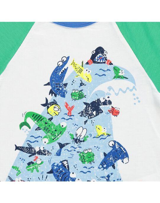 Tee-shirt manches courtes garçon COMATI1 / 18S902U1TMC000