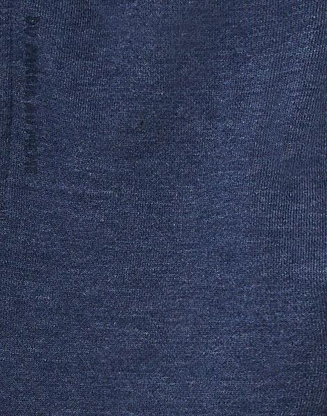 Bas de jogging garçon bleu chiné KOJOJOB4EX / 20W90258D2A222